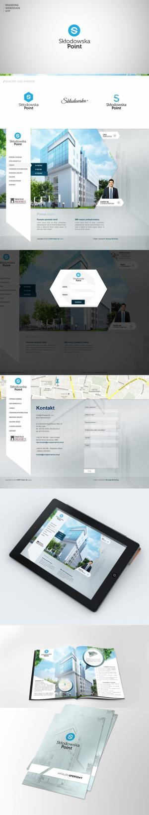 Projekt strony www dla Skłodowska Point - Warszawa