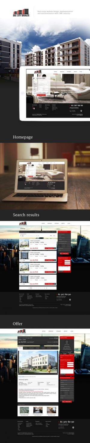 Serwis internetowy dla Big City Broker - Lublin