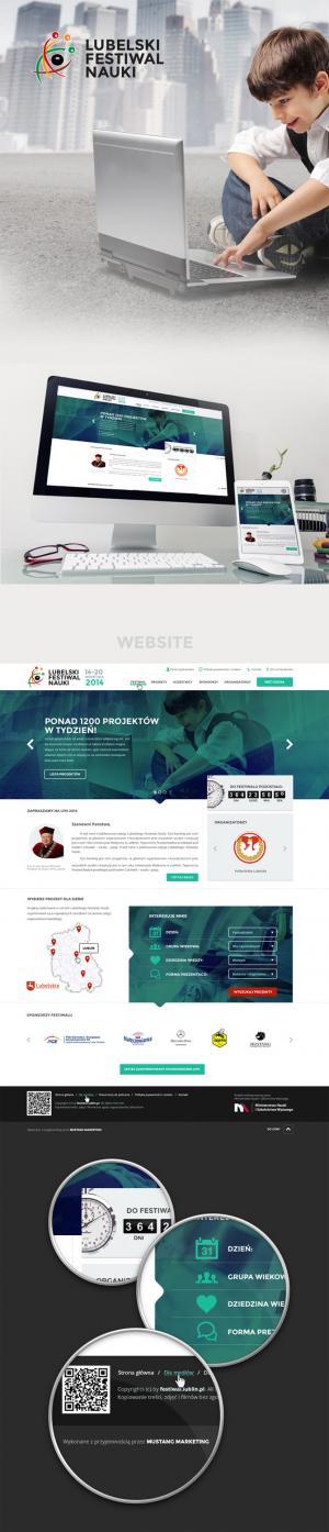 Projekt serwisu internetowego dla Mustang Marketing Adam Terepora - Lublin