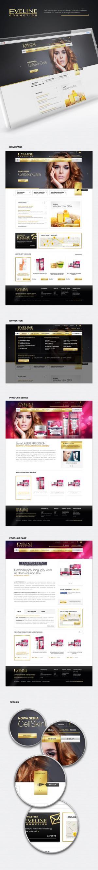 Strona internetowa dla Eveline Cosmetics - Warszawa