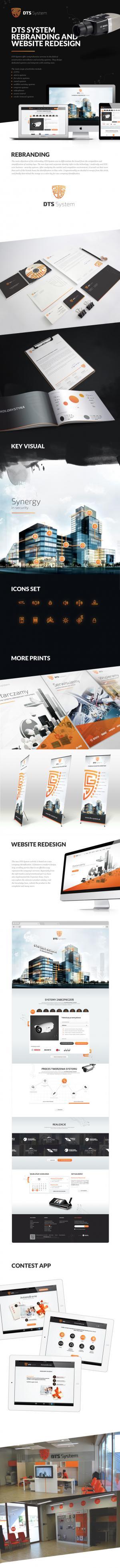 Rebranding dla DTS System - Lublin